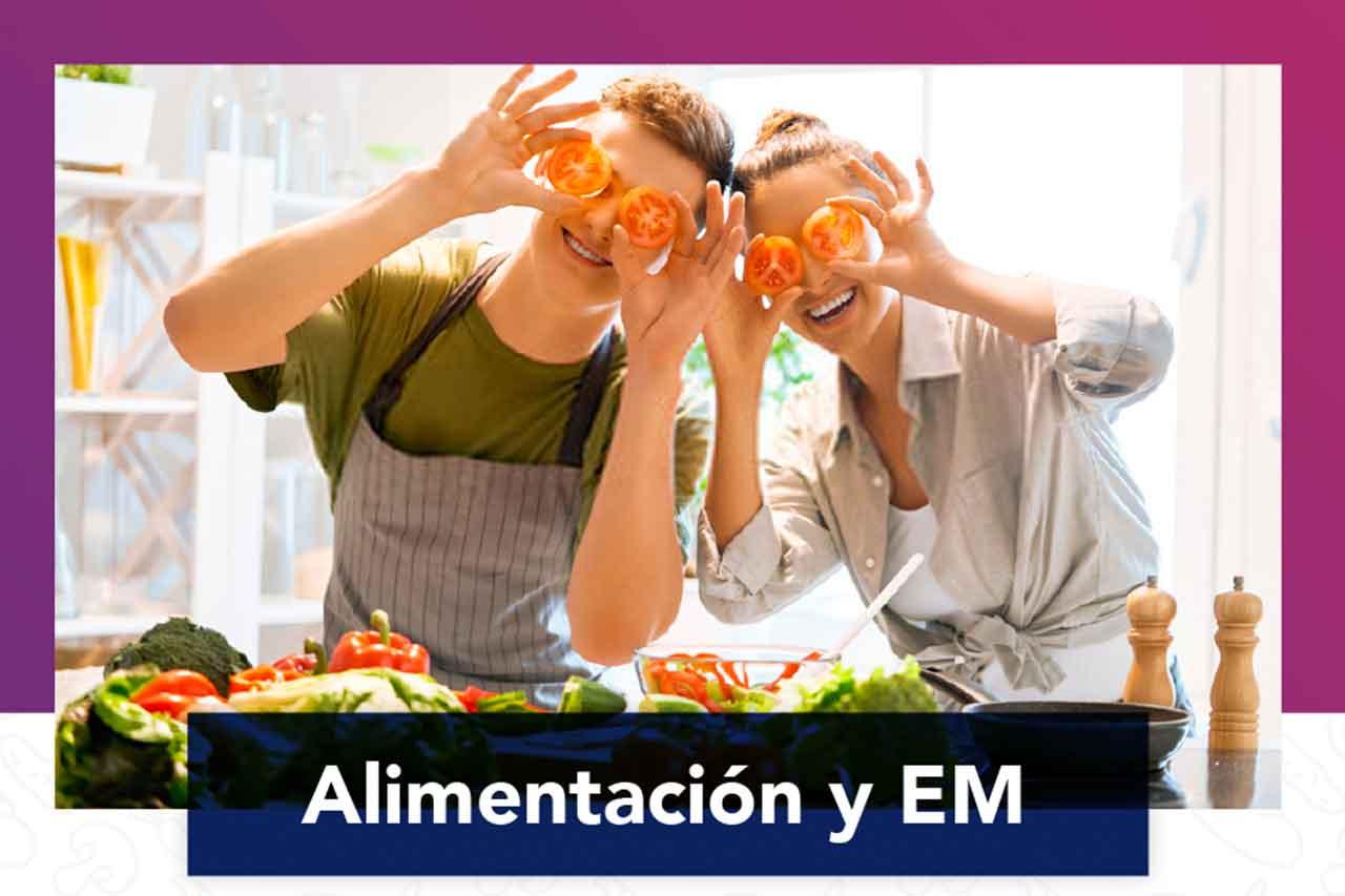 """Charla para pacientes """"Alimentación y EM"""""""