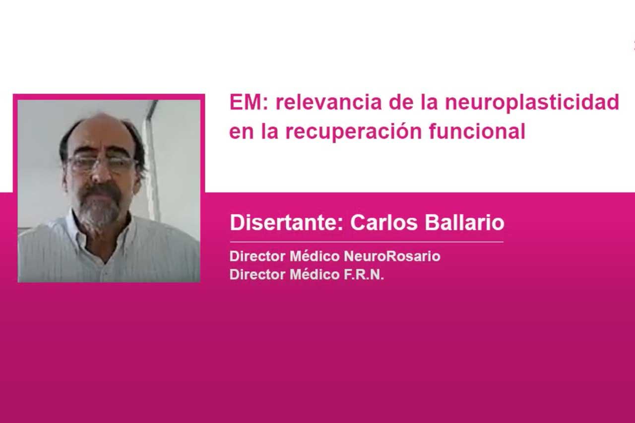 Relevancia de la neuroplasticidad en la recuperación funcional
